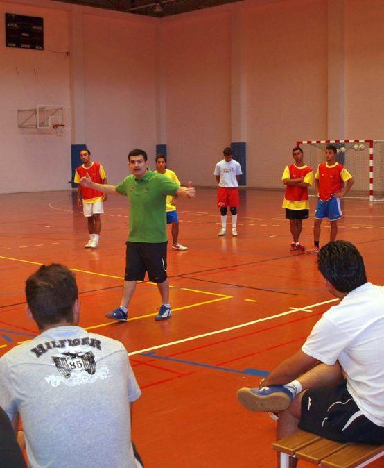 Curso de Entrenador de Fútbol Sala – Nivel I y II