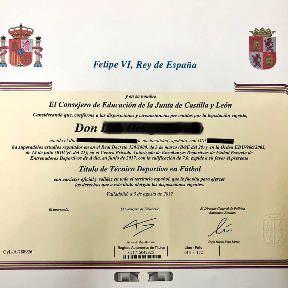 Títulación Académica Oficial