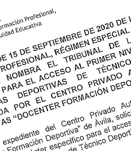 Resolución Tribunal Pruebas 2020-2021